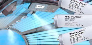 Замена ламп в солярии
