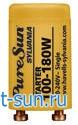 Стартер PureSun, 120W, 180W, Sylvania, для люминесцентных ламп, для солярия,