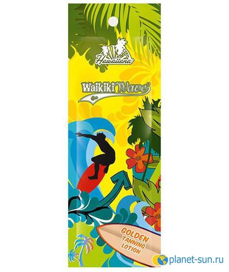 Крем для загара, Golden Tanning Lotion, Waikiki Wave, купить, купить в Санкт-Петербурге, крем-ускоритель, для загара