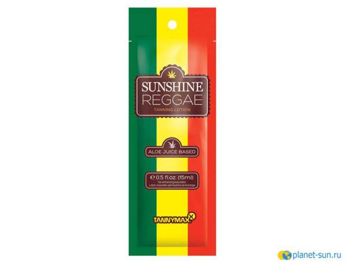 Крем для загара, крем без бронзаторов, крем на основе конопляного масла, Tannymax, Sunshine Reggae, купить, 15мл