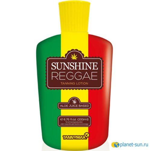 Крем для загара, крем без бронзаторов, крем на основе конопляного масла, Tannymax, Sunshine Reggae, купить,