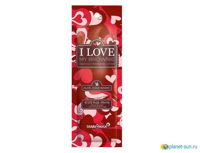 I Love My Brownie Factor 3, 15мл, лосьон для загара, крем, купить, Tannymax