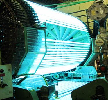 Производство ламп для соляриев Sylvania