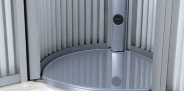 Замена ламп в солярии LUXURA V5