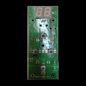 дисплей - плата на Luxura V5